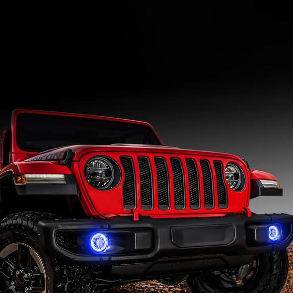Oracle Fog Light Halo Ring Kit, Jeep Wrangler JL