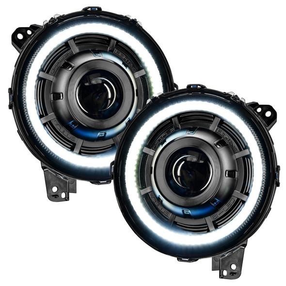 Oracle Oculus Switchback Bi-LED Projector Headlights, Jeep Wrangler JL/Gladiator JT