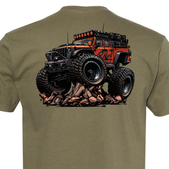 Rebel Off Road Must Be Nice JT Beasted-Up T-Shirt