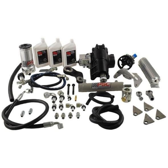PSC Big Bore XD Cylinder Assist Steering Kit,  2012-18 Jeep JK 3.6L- SK283