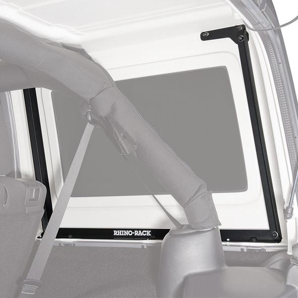 Heavy Duty RCL Black 3 Bar Rhino-Rack Backbone Roof Rack