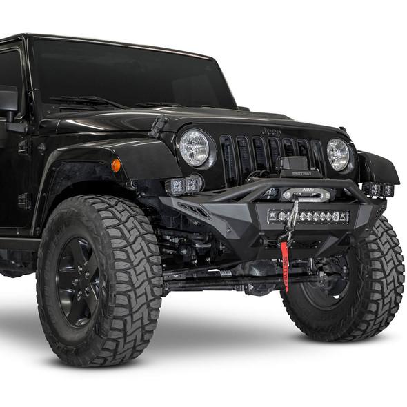 Addictive Desert Designs Stealth Fighter Winch Front Bumper, 07-18 Jeep JK