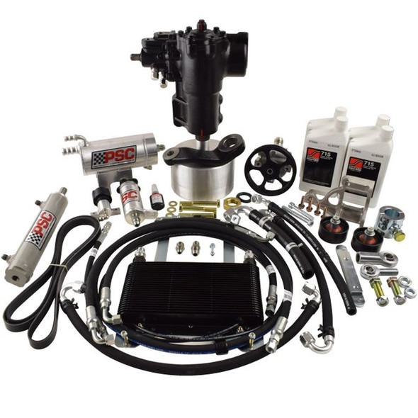 PSC Big Bore XD-JL Cylinder Assist Steering Kit for 2020 and Newer Jeep JL 2.0L non-eTorque with Aftermarket Axle