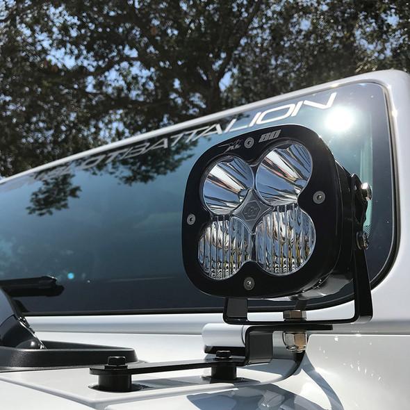 Baja Designs Jeep JL/ Gladiator JT, A Pillar Squadron Light Kit