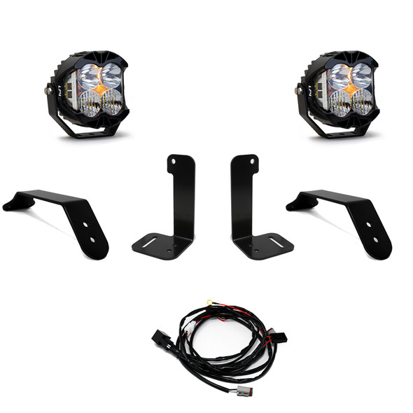 Baja Designs Jeep JL/ Gladiator JT LP4 Bumper Light Kit