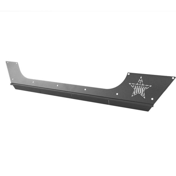 Rock-Slide Engineering Step Slider Rocker Guards, Aluminum, Jeep Wrangler JL 2 Door