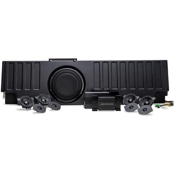 OEM Audio Plus Hi Fidelity Plug and Play Sound System, Jeep Gladiator JT