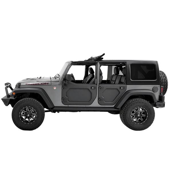 Bestop Core Half Doors, 07-18 Jeep Wrangler JK