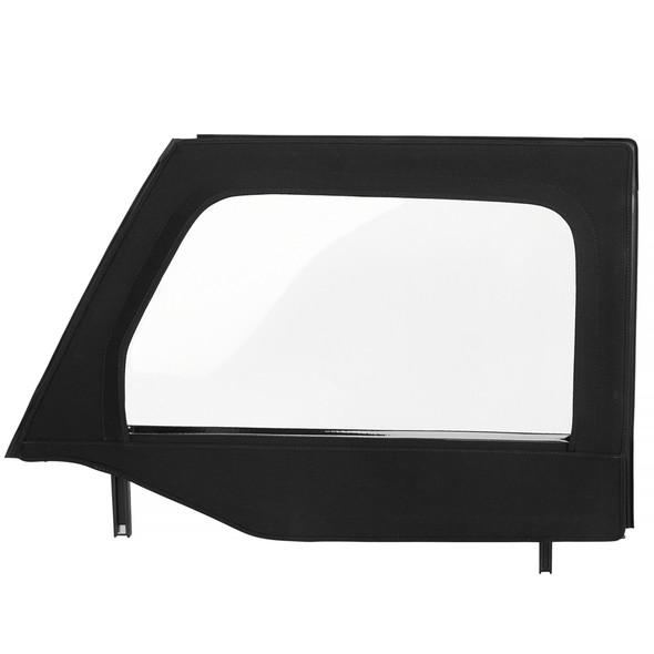 Bestop Core Half Door Upper Fabric Kit, 07-18 Jeep Wrangler JK