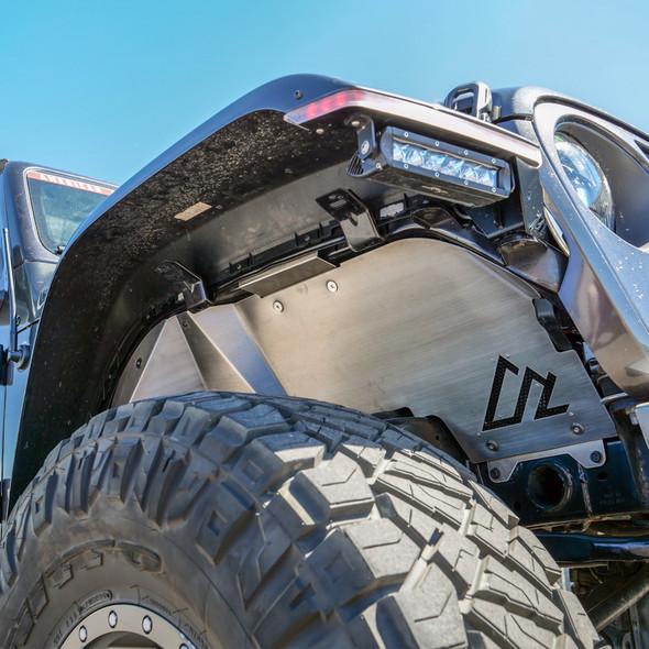 American Adventure Labs Aluminum Quick-Release Front Inner Fenders, Jeep JL/JT