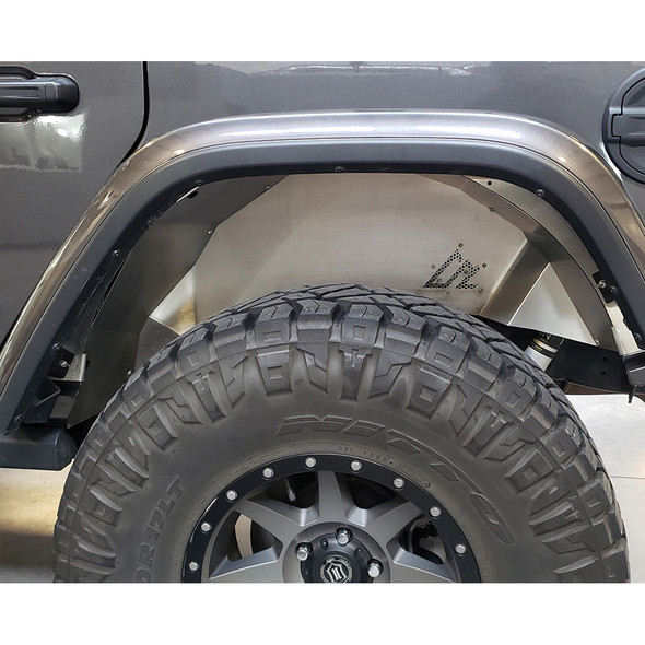 American Adventure Labs Aluminum Quick-Release Rear Inner Fenders, Jeep Wrangler JL