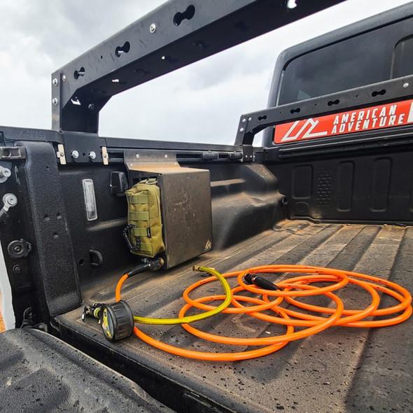 American Adventure Labs ARB Twin Compressor Trail Rail Mount, Jeep Gladiator JT