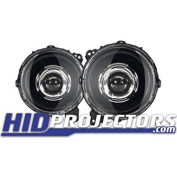 """HID Projectors Classic 9"""" Bi-LED Projector Headlights, Jeep Gladiator JT/Jeep JL"""