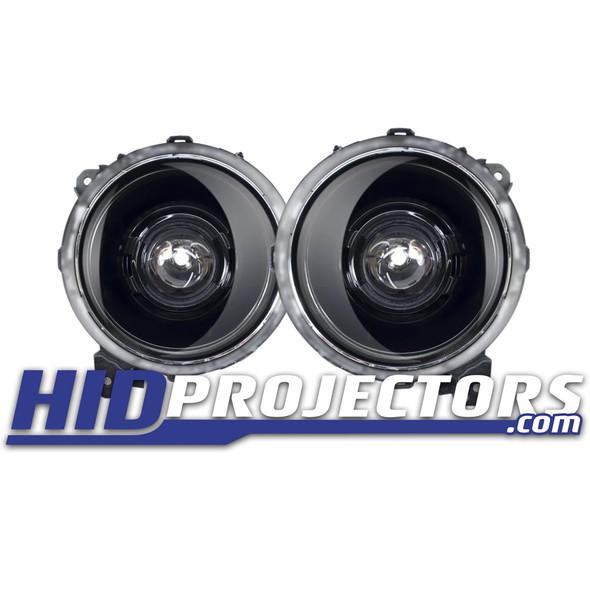"""HID Projectors Black Series Classic 9"""" Bi-LED Projector Headlights, Jeep Gladiator JT/Jeep JL"""