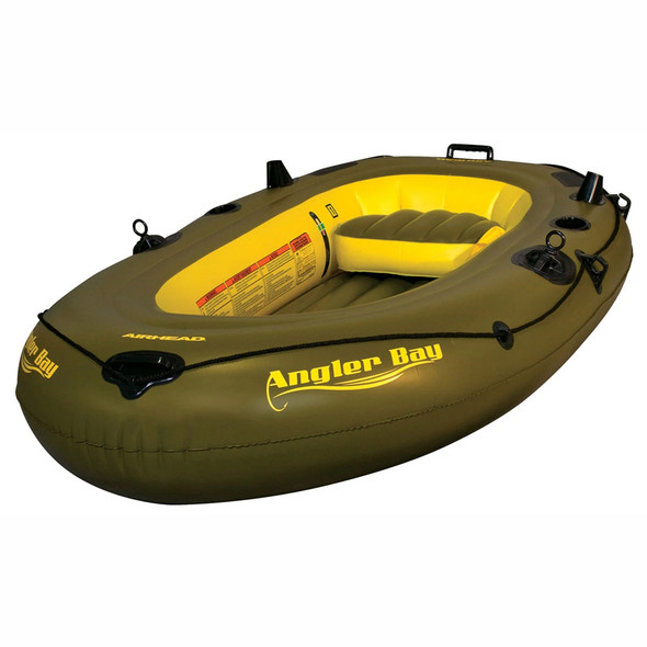 Angler Bay Inflatable Boat, 3 Person