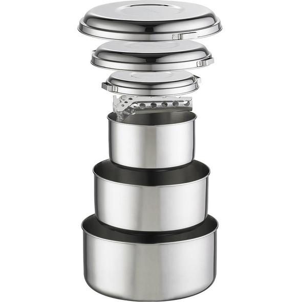 MSR Apline 4 Pot Set, Stainless Steel