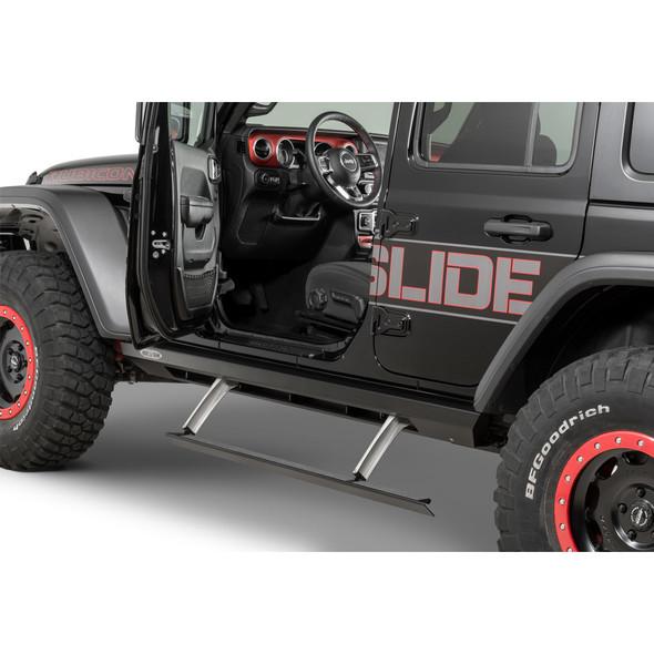 Rock-Slide Engineering Gen 2 Step Sliders, Jeep JL Unlimited 4 Door - BD-SS-200-JL4