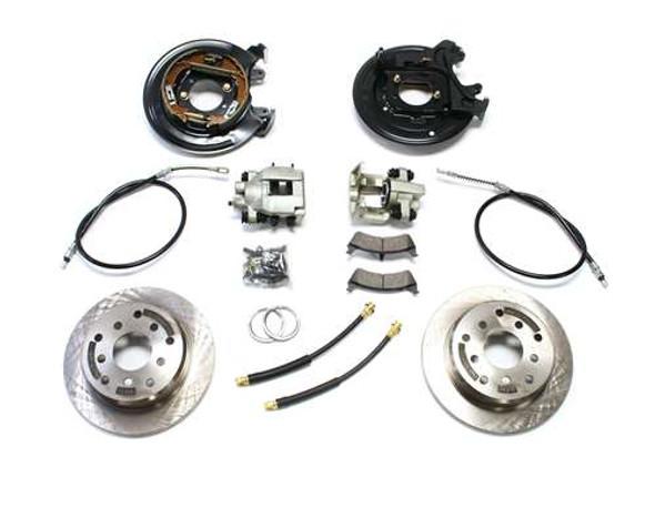 TJ Rear Disc Brake Conversion Kit w/ E-Brake Cables