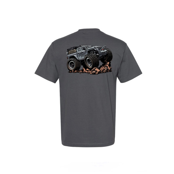 Rebel Off Road Iron Man JT Beasted-Up T-Shirt