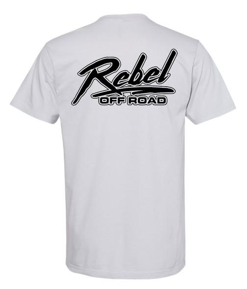 Rebel Off Road Working Man Light Gray T-Shirt