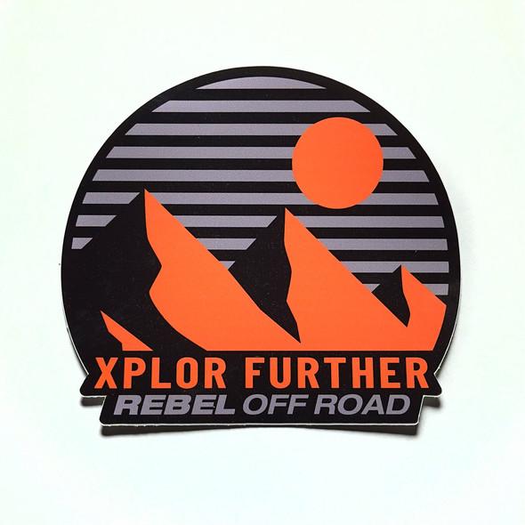 Rebel Off Road XPLOR Further Sunset Decal
