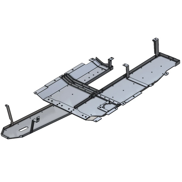 Next Venture Aluminum Belly Skid Plate, Jeep JT Gladiator Diesel