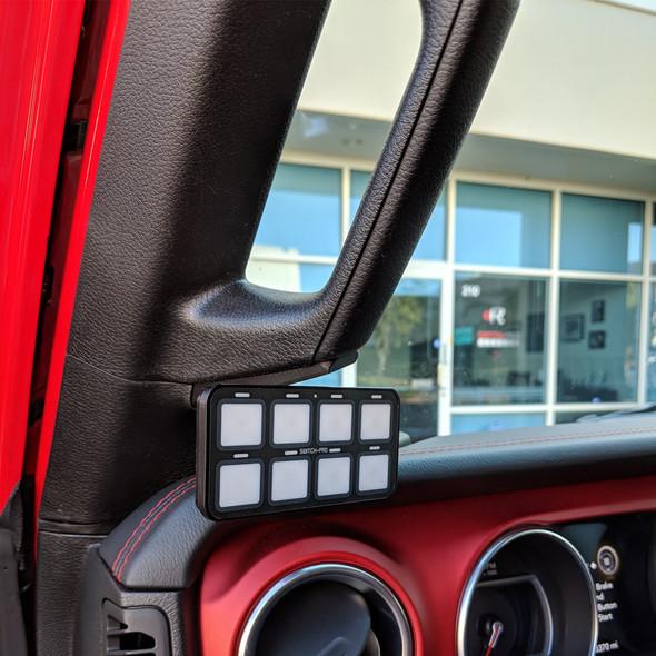 SwitchPros Mounting Brackets, Jeep JL/Gladiator JT