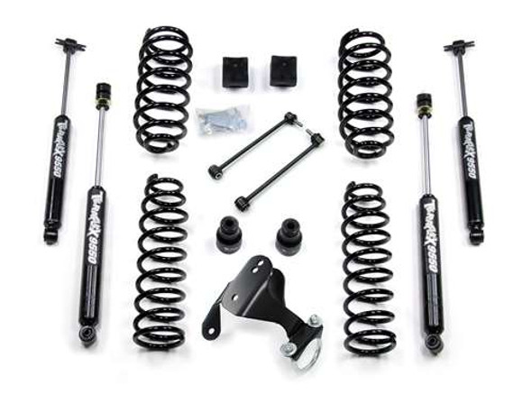 "JK 2-Door 2.5"" Lift Kit w/ 9550 VSS Shocks"