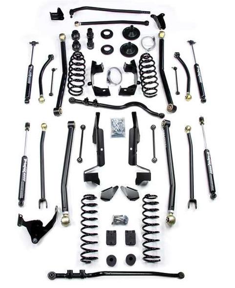 "TeraFlex JK 4-Door 6"" Elite LCG Long Flexarm Lift Kit w/ 9550 Shocks"