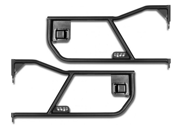 Warrior Tube Doors For Jeep JK And Unlimited - Front