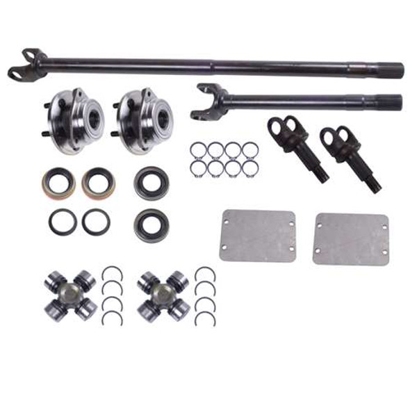 Alloy USA Axle Kit for D30 F 30SP YJ/XJ