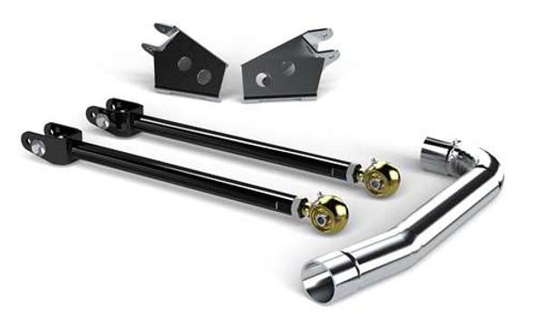 TeraFlex TJ/LJ Front Upper: Pro LCG Long Flexarm Upgrade Kit w/ Brackets - Complete - 1443470