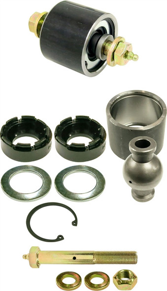 Currie Enterprises 2.5 JJ - Internally Greased - w/ 14 Ball - Cross Drilled (0.562 Hole x 2.365 OAW Offset) - w/Grease Bolt - Each
