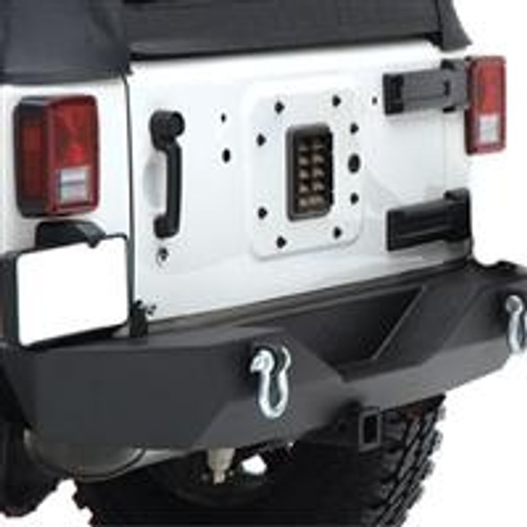 Jeep JK XRC Armor Rear Bumper With Hitch By Smittybilt
