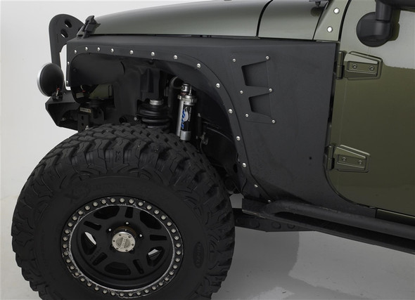 Smittybilt XRC Armor Front Fenders For 07-up Jeep Wrangler & Wrangler Unlimited JK