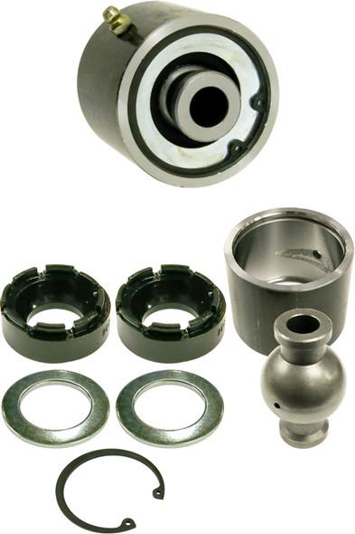 Currie Enterprises 2.5 JJ - Externally Greased - W/Chromoly Barrel and STD Ball (0.562 Hole x 2.625 OAW) - W/Bolt - Each