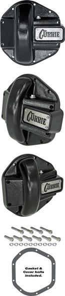 Currie Enterprises Dana 44 Cast Cover - Semi-Gloss Black