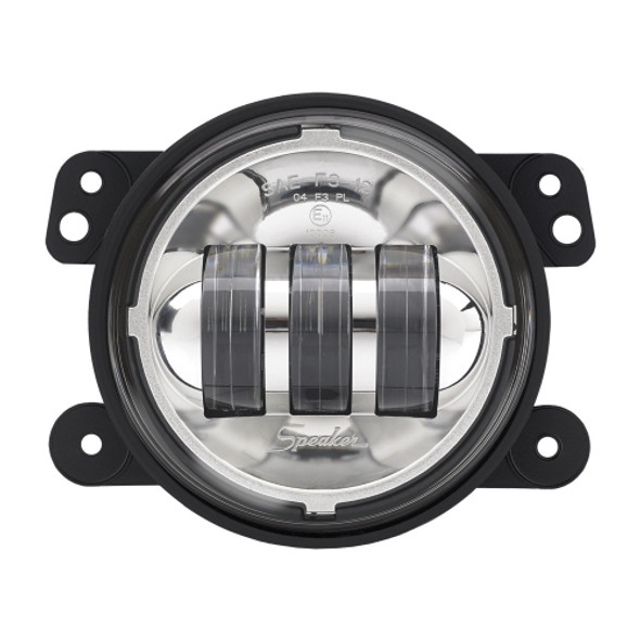 J.W. Speaker 6145 LED Fog Lamp Kit Chrome For 07-18 Jeep Wrangler & Wrangler Unlimited JK