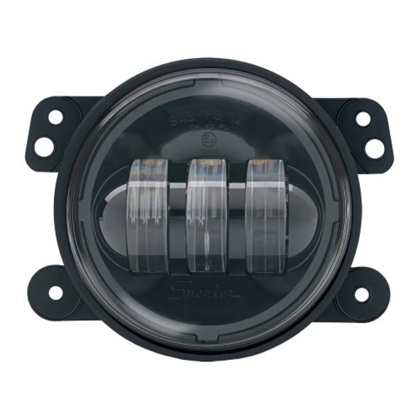 J.W. Speaker 6145 LED Fog Lamp Kit Black For 07-14 Jeep Wrangler & Wrangler Unlimited JK
