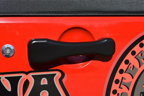 CMM Black Jeep JK Billet Paddle Door Handles