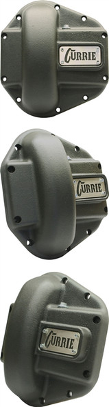 Currie Enterprises Dana 60 and 70 Cast Iron Cover - Textured Black