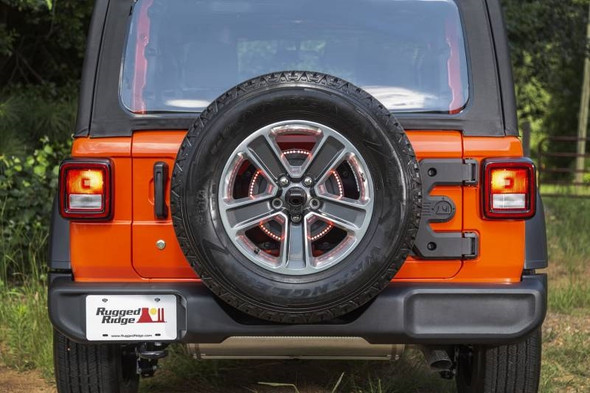 Rugged Ridge 11546.56 Spartacus HD Tire Carrier Hinge Casting for 18-19 Jeep Wrangler JL