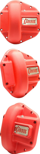 Currie Enterprises Dana 60 and 70 Cast Iron Cover - Textured Red