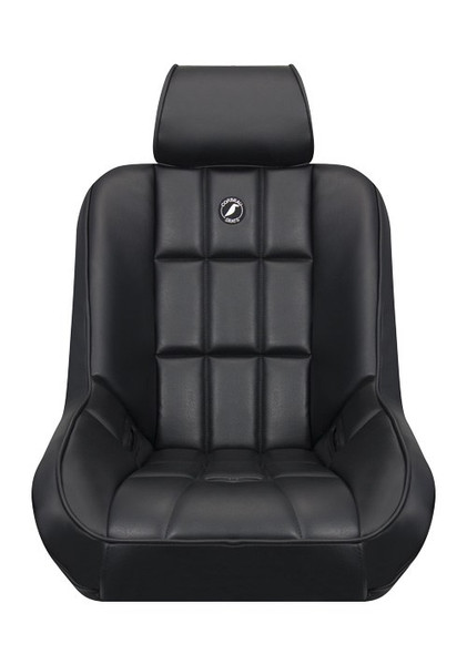 The Baja Low Back seat is a low back version of our ever-popular Baja SS Suspension Seat. This line of suspension seats is one of the most advanced suspension seats available today. The Baja Low Back Suspension Seat was designed for the off road enthusiast who wants the safety of suspension and the comfort of Corbeau. What makes this seat special is the option for an adjustable headrest. The Baja Low Back headrest not only adjusts up and down but will also adjust forward and back, assuring ultimate comfort both on and off road.. As a rule of thumb the Baja Low Back Seat will fit up to a 36-38 inch waist. The Baja Low Back Seat is available in vinyl and vinyl/cloth fabrics. The headrests are available in vinyl only. The headrest option is an additional $49.00 per seat and must be specified at the time of your order. If ordered without headrests, there will not be any headrest holes or grommets in the top of the seat.