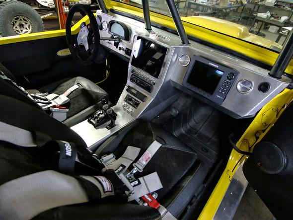 Genright Jeep JK ALuminum Dash & Center Console Kit