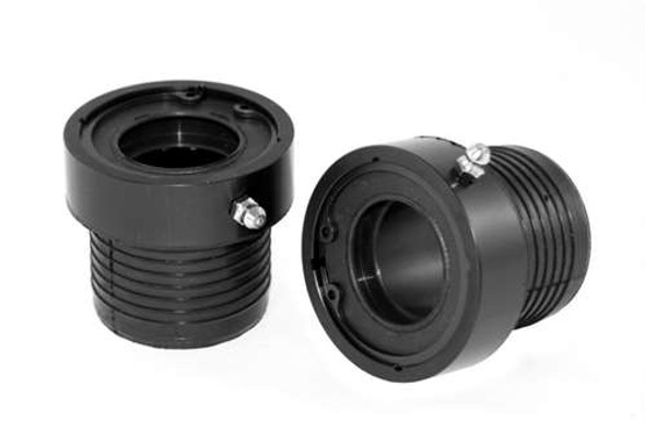 Alloy USA Seal Axle Tube Pair for D30/44 BLK 1