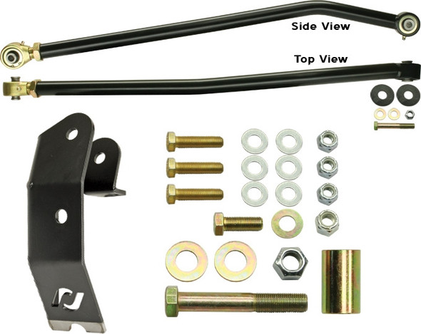 Currie Enterprises Johnny Joint Rear Trac Bar - W/ New Style Housing Bracket Kit