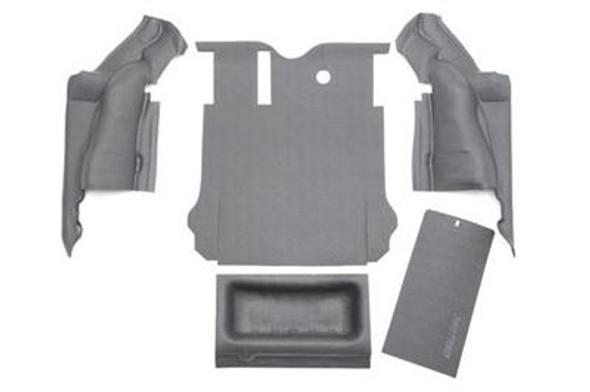 Bedrug BedTred JK 2007-10 4-Door Rear 5-Pc Floor Kit, Including Tailgate & Tub Liner