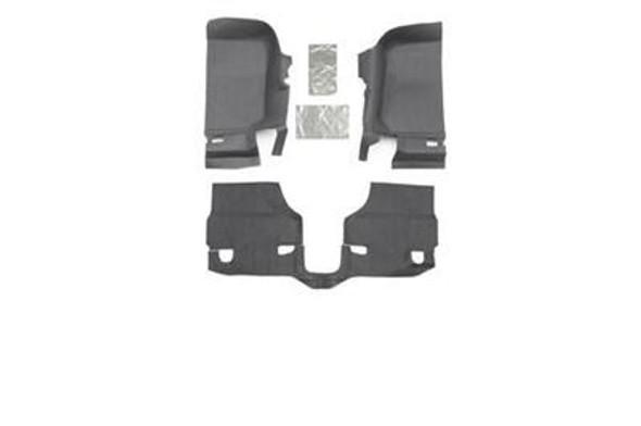 Bedrug BedTred JK 2011-13 2-Door Front 3-Pc Floor Kit, Including Heat Shield