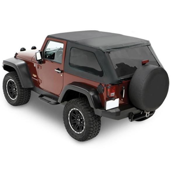 Bestop Trektop NX in Black Diamond For 07-12 Jeep Wrangler JK 2 Door